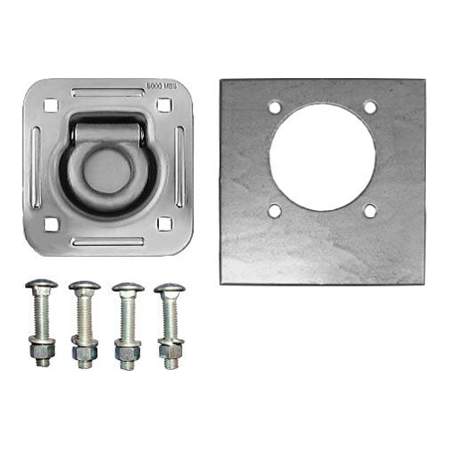 RECESSED TIE DOWN RING W/ HARDWARE CAPACITY: 5K LBS