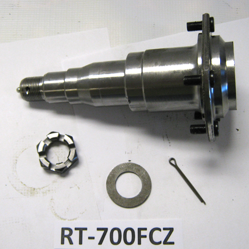 5.7K LUBE SPINDLE ASSEMBLY W/ BRAKE FLANGE STRAIGHT