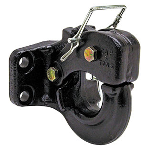 PINTLE HOOK 5 TON TONGUE WEIGHT: 2,000 LBS