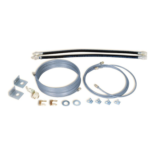 SINGLE AXLE BRAKE LINE KIT TORSION AXLE