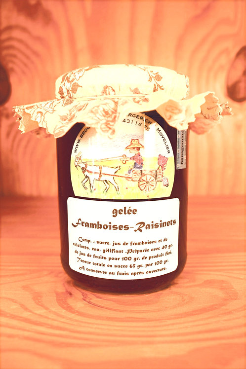 Gelée Framboises - Raisinets