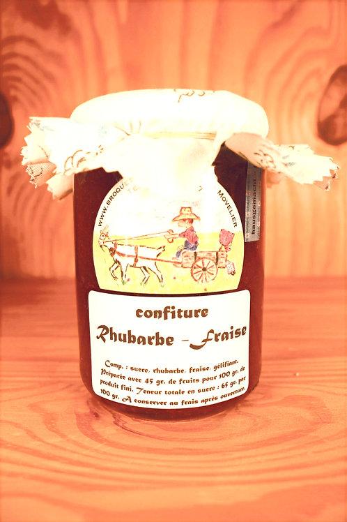 Confiture Rhubarbe - Fraise