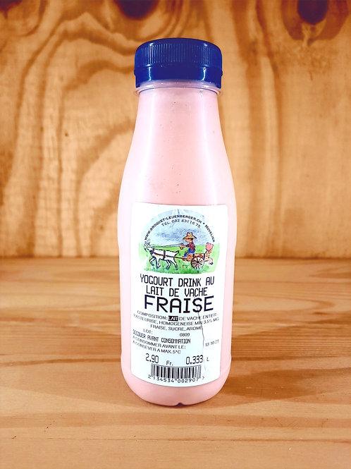 Yogourt drink Fraise