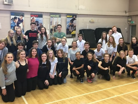 West End Performer Holds Workshop