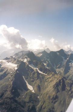 DG400 10500ft Bonneval to Mt Blanc Aug 1998 Peter Hearne.jpg