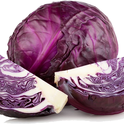 Cabbage, Red - Half a cabbage