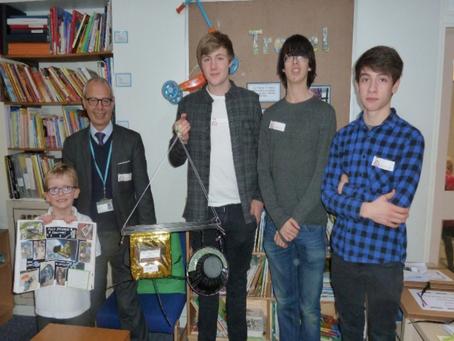 Project Edge of Space - EOS Farnham Common Primary school
