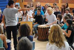 Drumming workshop at the Ringwood Waldorf School 10.jpg