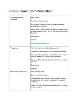 AirbnbGuestBookingCommunication 1