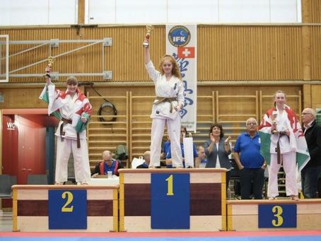 Interna onal Under 18s Champion!