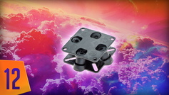 12. Anti Vibration mount for flight controller F450 bay.png