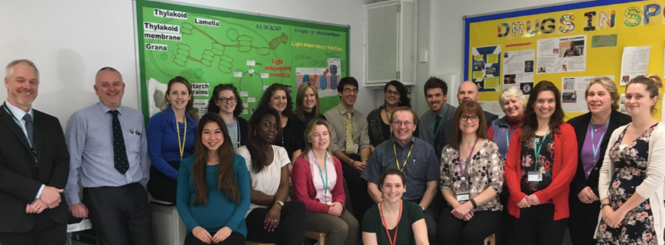 Our Science Team: Mike Howard, Jerry Milward, Claire Laws, Lynn Bedford, Samantha Riley, Hilary Moss, Giles Bazany-Barber, Emily Maric, Eric Mcsween, Paul Hilton, Jane Denne , Carolyn Akers, Sarah Grant. Mai Hannay, Lola Momoh, Claire Robinson, Pete Gibson, Melanie Canham, Becky Meyrick, Brierley Reeves