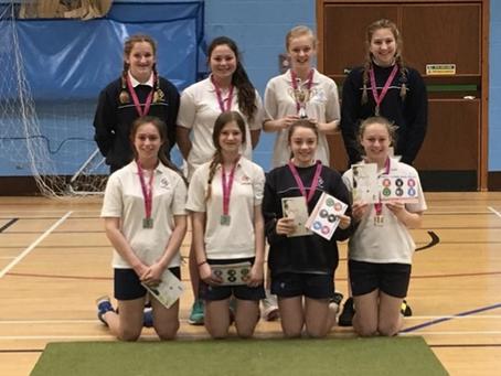 Girls Indoor Cricket