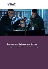 Programme Management  as a Service G-Clo