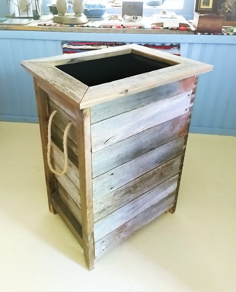 Tall Planter Box, Lined