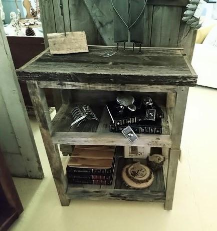 Rustic Book Shelf Unit