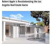 ROBERT APPLE REVOLUTIONIZES THE REAL EST