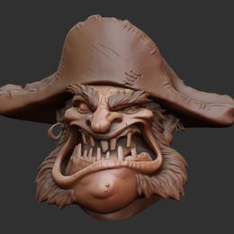 Pirate Zbrush Speed Sculpt