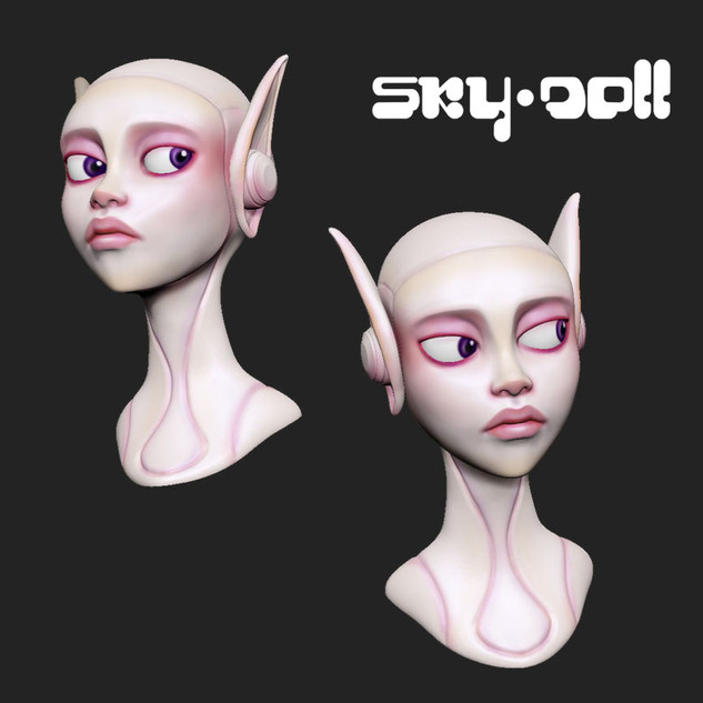 Skydoll 3D Fan Art