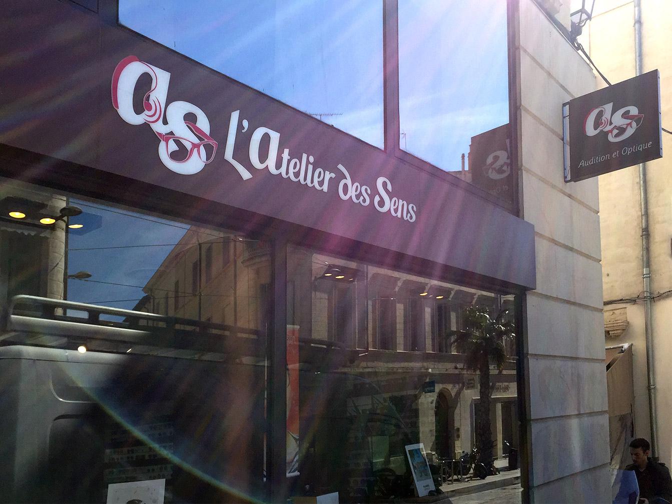 Boutique Opticien : devanture