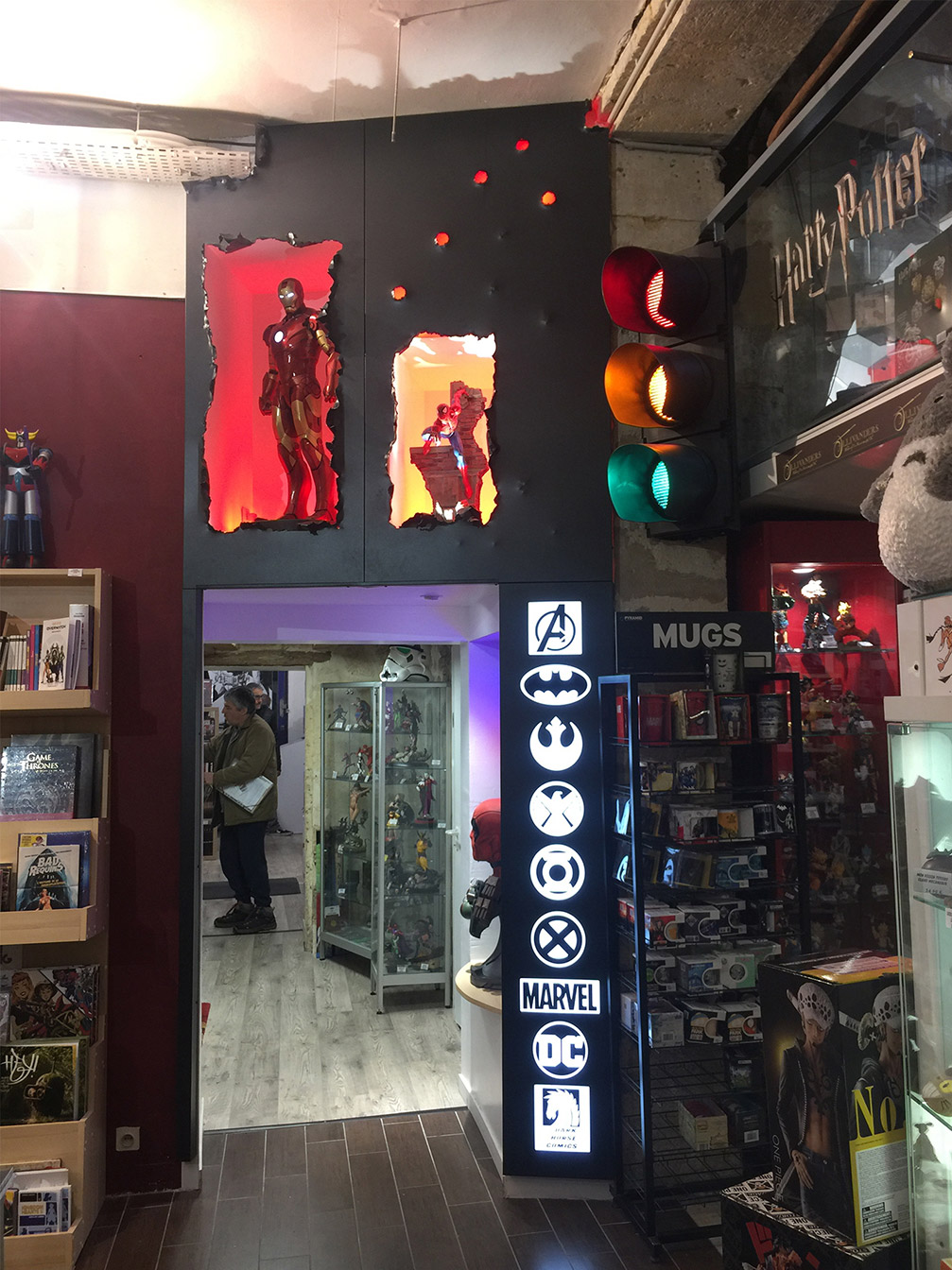 Librairie BD : Espace Comics