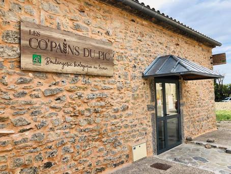 Enseigne boulangerie : Les Copains du Pic