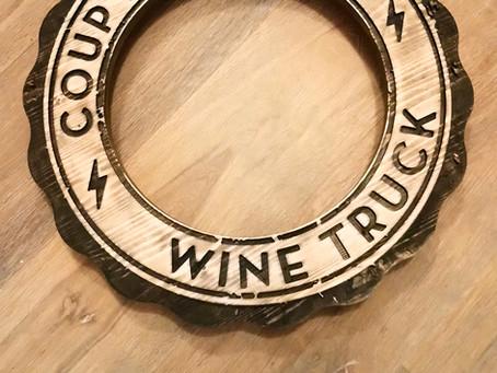 Cadre sur mesure : Coup de foudre - Wine Truck