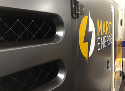Covering Groupe Électrogène MARTY ENERGIE