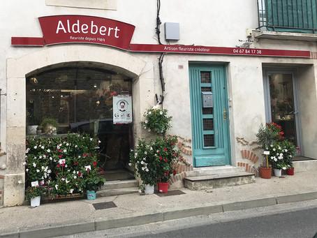 Enseigne Fleuriste : Aldebert