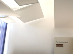 Signalétique cabinet ophtalmo