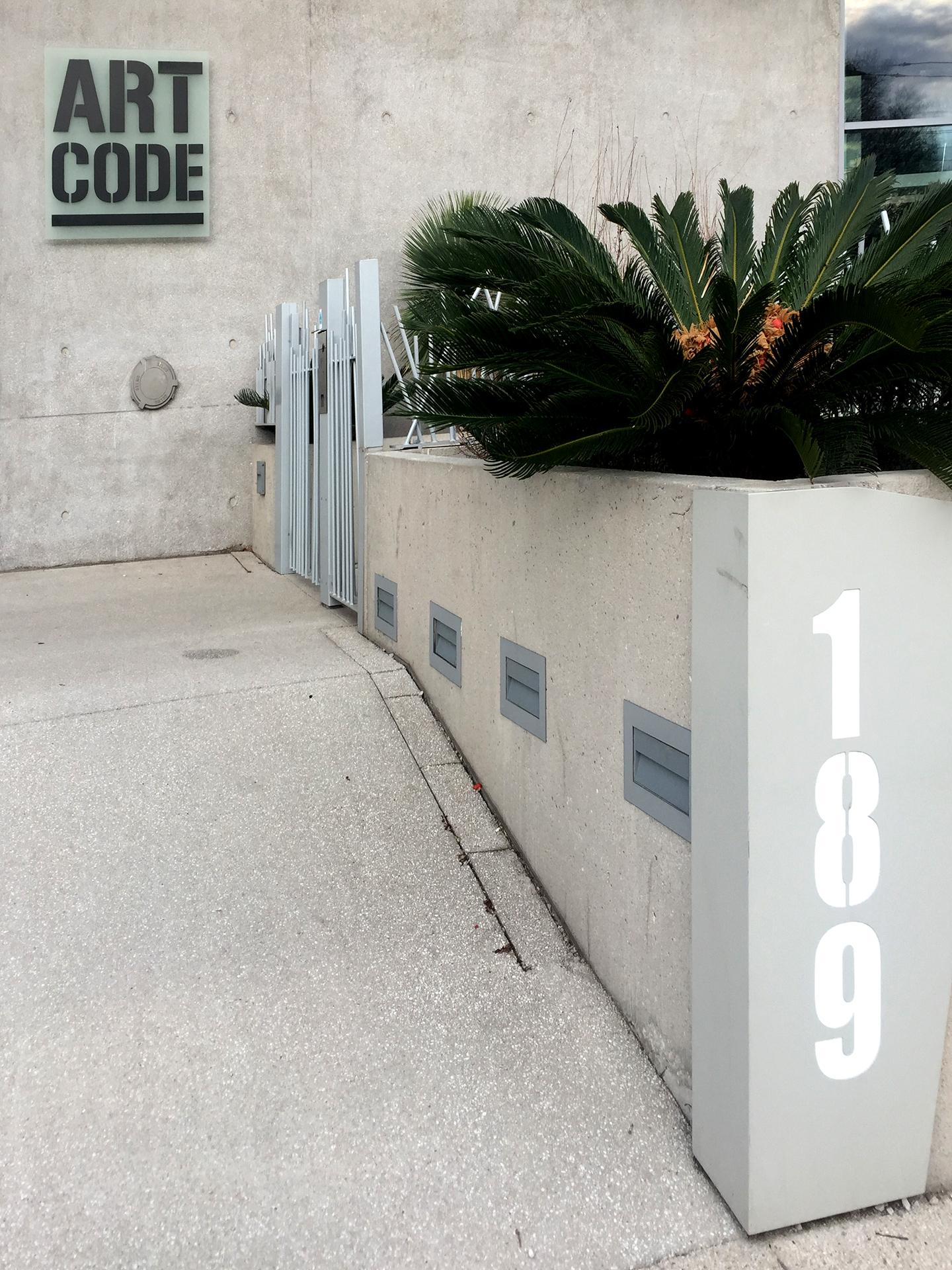 Résidence Art code : Entrée