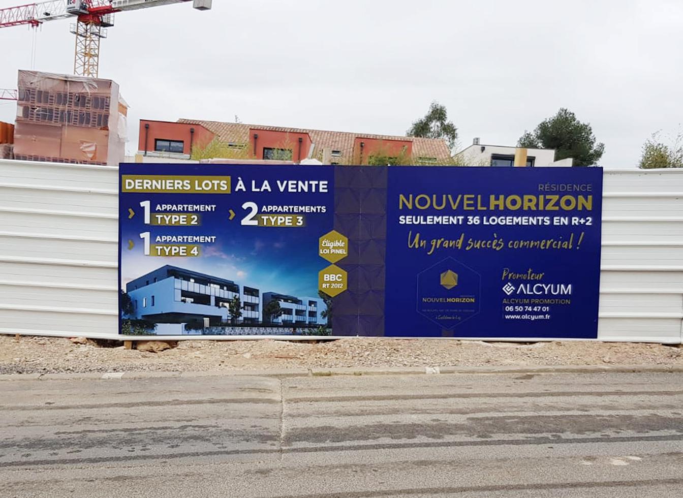 Projet résidence Nouvel horizon : Chantier