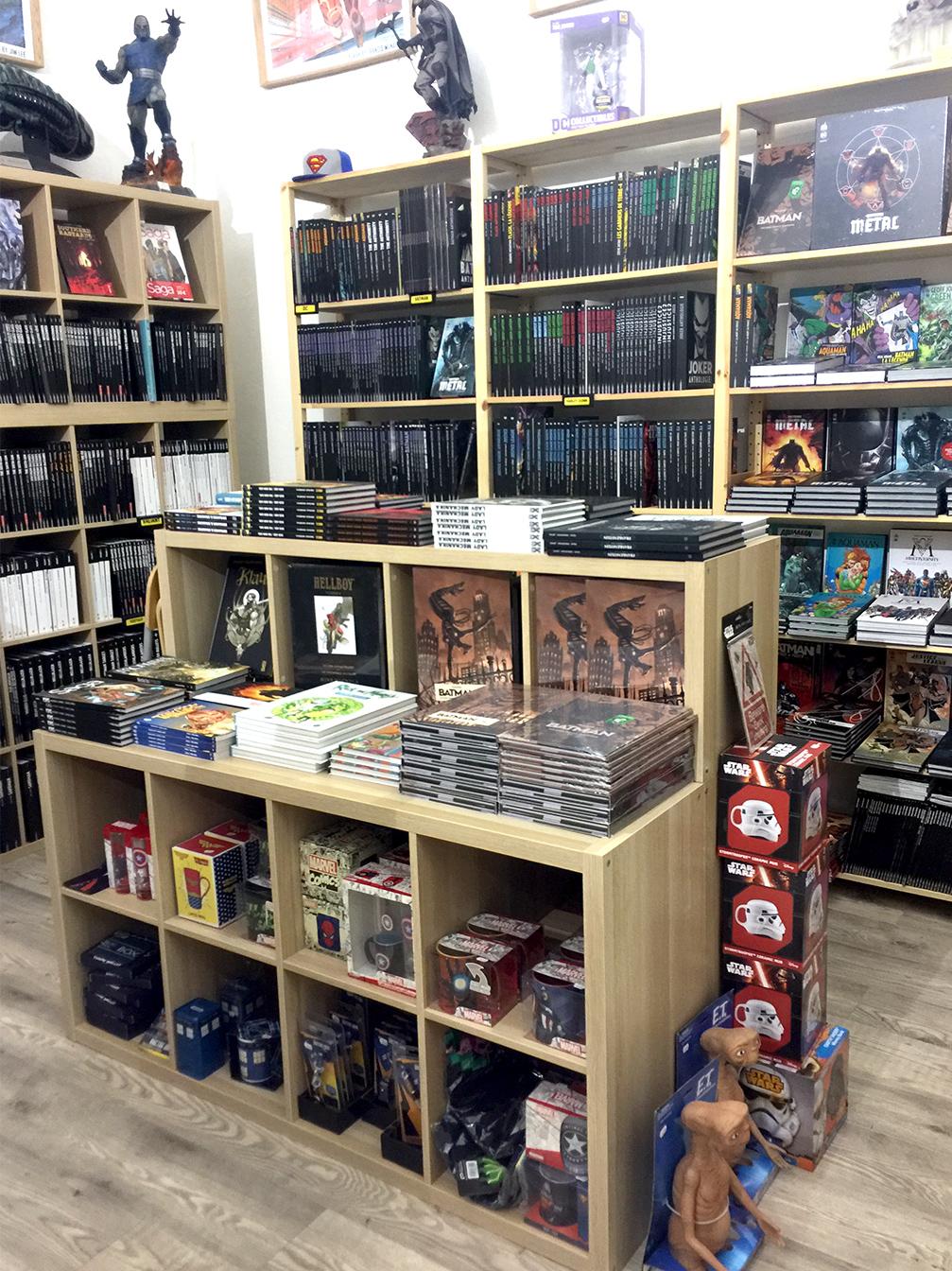 Meuble pour livres et BD