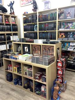 Meuble pour livres et BD : Librairie