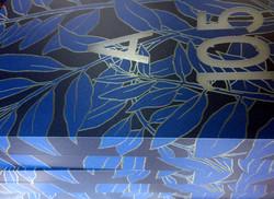 Plaque de porte par l'Artiste Clara Langelez