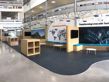 Habillage d'espace : Dell Montpellier