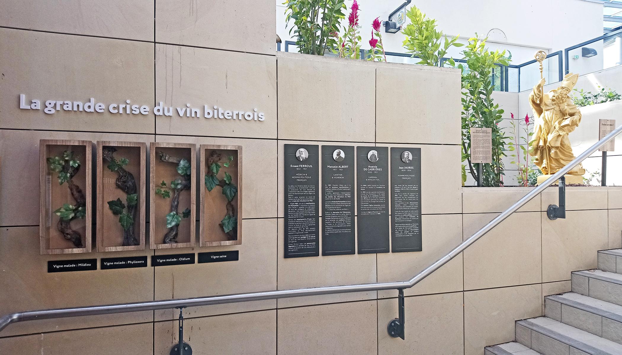 Polygone Béziers - Parcours œnologique