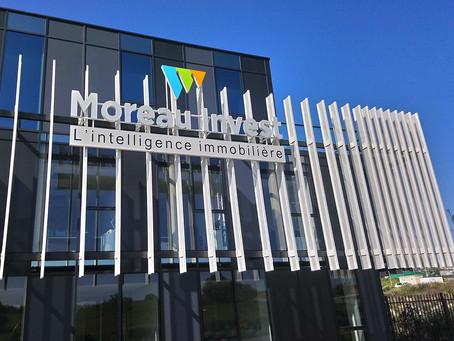 Enseignes grand format : Moreau Invest - Axylis