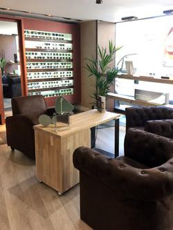 Boutique Opticien : mobilier