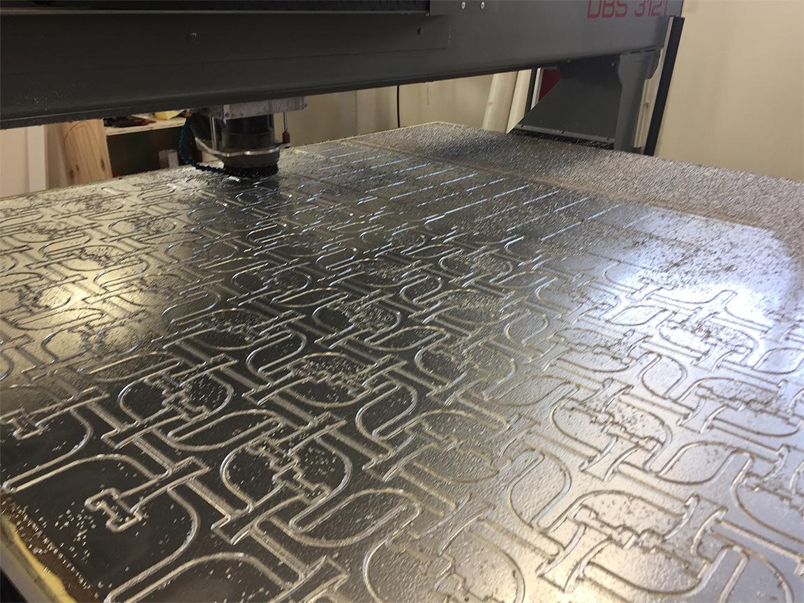 Fraisage aluminium