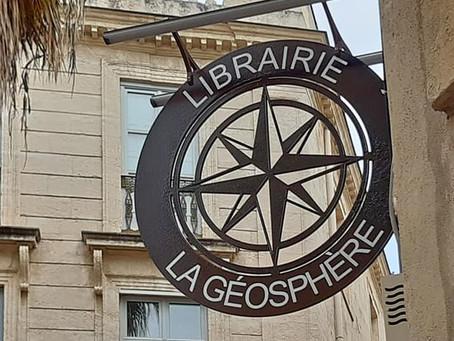 Enseigne Librairie : La Géosphère
