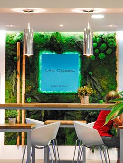 Restaurant : décoration lumineuse