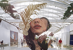 Œuvre d'art > Artistes : Clara Langelez & Arkane