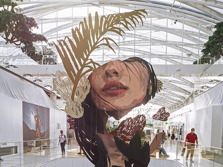 Structure support d'œuvre d'art : Clara Langelez & Arkane