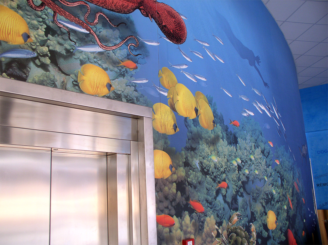 Signalétique aquarium Montpellier