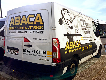 Semi-covering : Serrurier Vitrier - Abaca