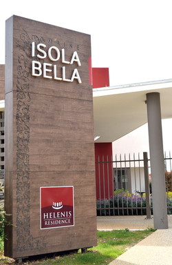 Totem Isola Bella- Résidence Helenis