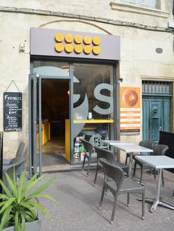 Enseigne Bagel Store Montpellier