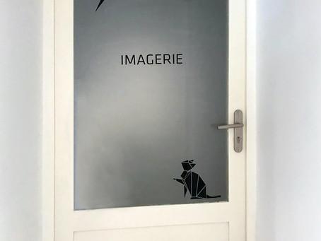 Signalétique clinique vétérinaire : Vet'ecusson