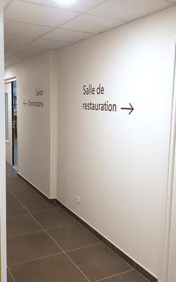 Résidence Services Séniors L'Apogée : Signalétique intérieure